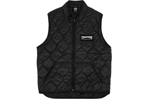 Thrasher Logo Patch Vest