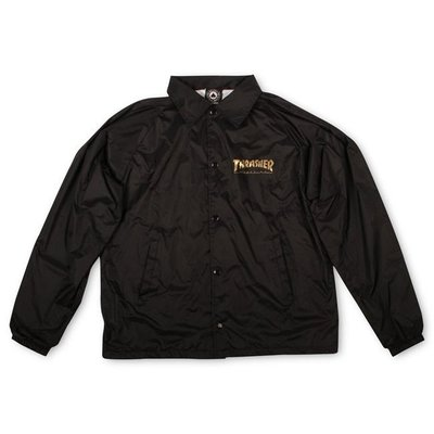 Thrasher Pentagram Coach Jacket (Black)