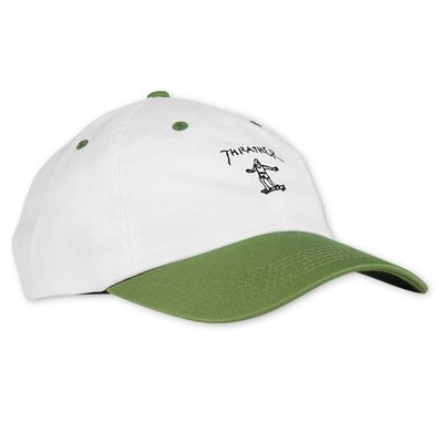 Gonz Old Timer Hat (White/Olive)