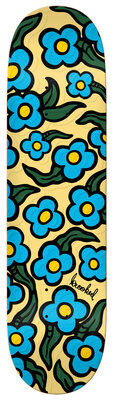 KROOKED WILD STYLE FLOWERS EMBOSSED 8.06 FULL