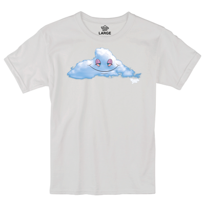 Thank You Head In The Clouds Tee White