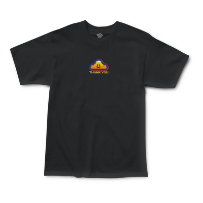 Thnak You Game Cloud Tee black