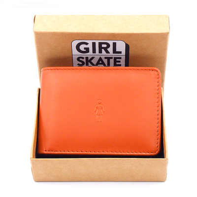 GIRL Micro OG Wallet Tan Leather