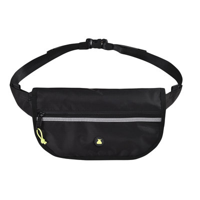 BUMBAG Hi Viz Folder Hip Pack-Black