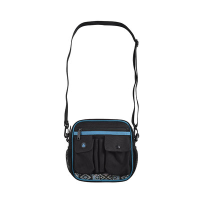 BUMBAG Oaker Utility Shoulder Bag-Black