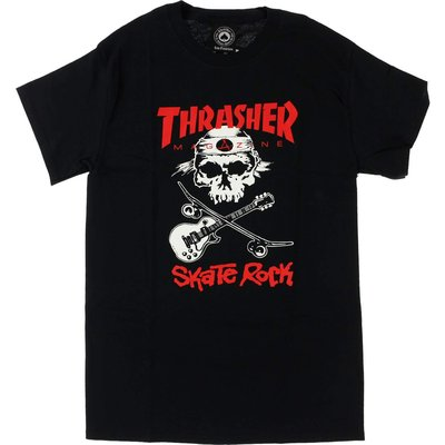 Thrasher New Sk8 Tee Black