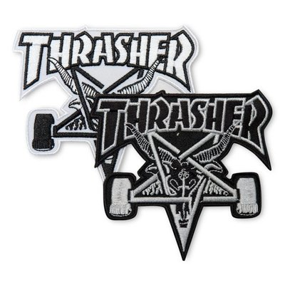Thrasher Sk8 Goat Patches