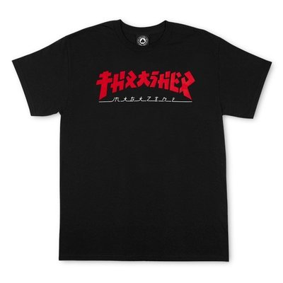 Thrasher Godzzila T-Shirt Black