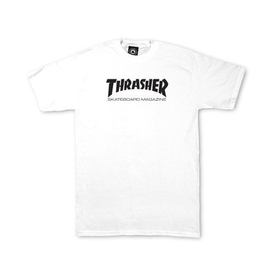 Thrasher Skate Mag T-Shirt White