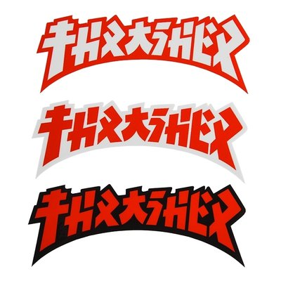 Thrasher Die Cut Godzzila Sticker