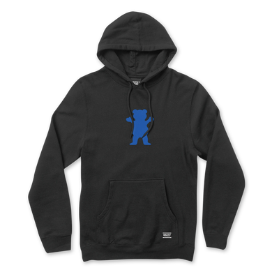 Grizzly OG Bear Hoodie Black / Royal