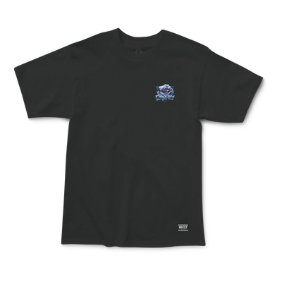 Grizzly Chrome Rose T-Shirt Black
