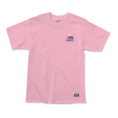 Grizzly Chrome Rose T-Shirt Pink