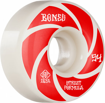 BONES WHEELS STF Skateboard Wheels Patterns 54 V1 Standard 103A 4pk