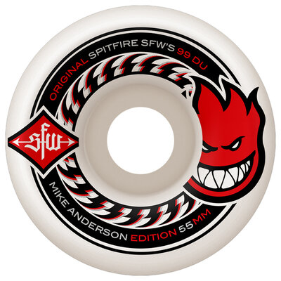 Spitfire 80HD Charger Classic Clear 56mm
