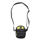 BUMBAG Hi Viz Compact Shoulder Bag-Black