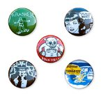 Thrasher Usual Suspects Buttons (5 Pack)