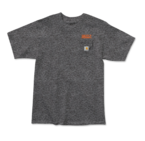Grizzly Stamp Worl Carhartt T-Shirt Heather