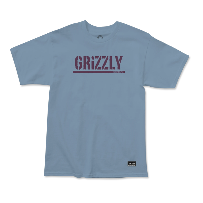 Grizzly Stamp T-Shirt Slate
