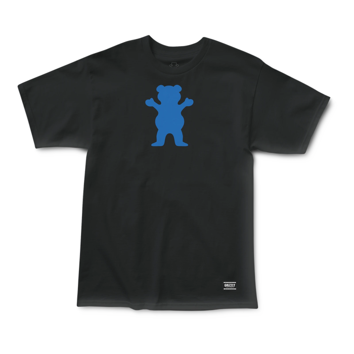 Grizzly OG Bear T-Shirt Black/Royal